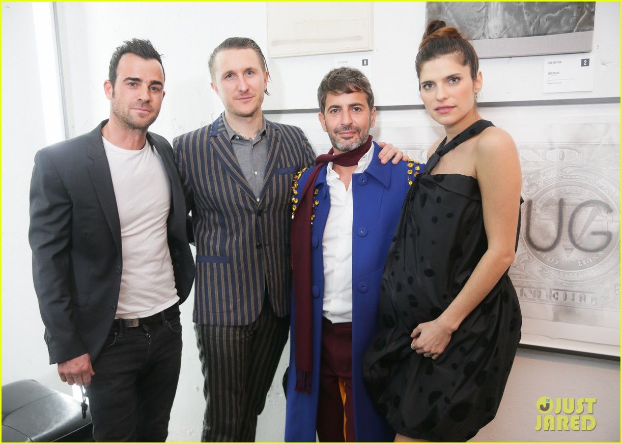 justin theroux lake bell free arts benefit 02