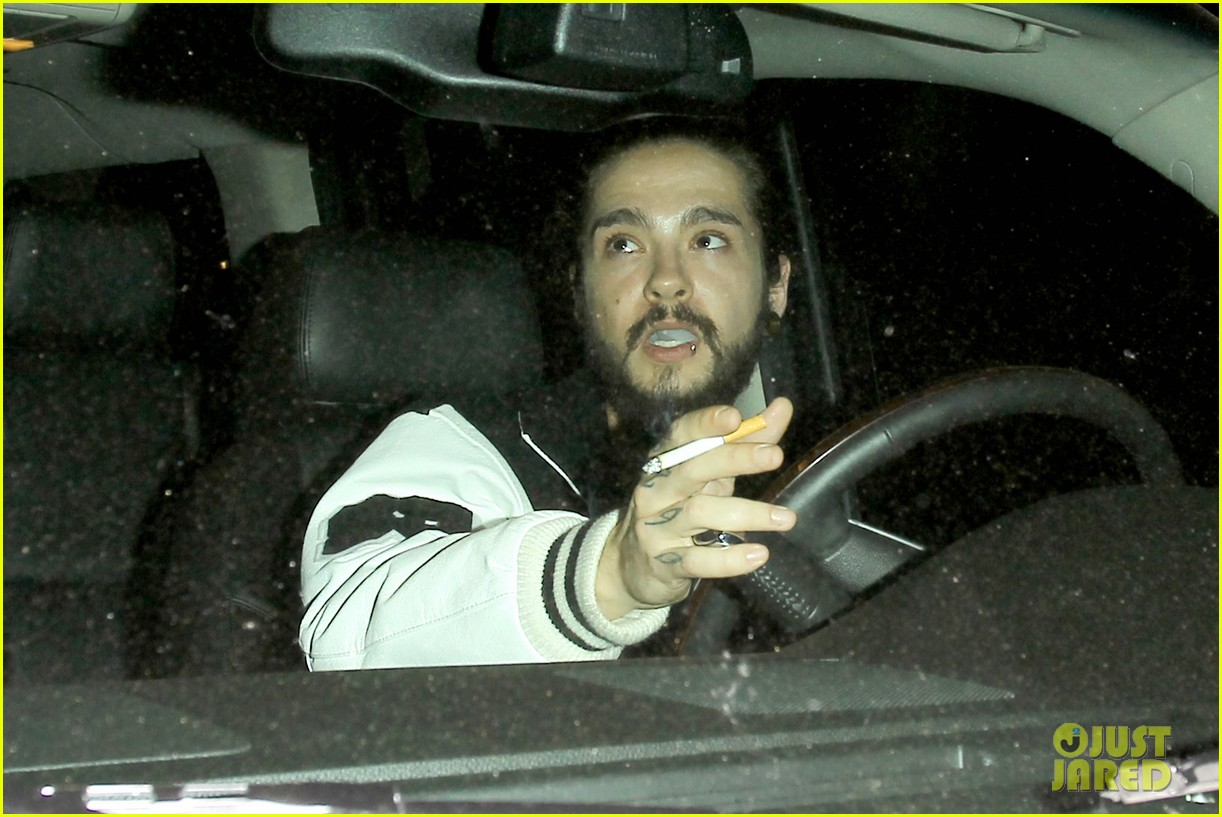 bill tom kaulitz make rare public appearance 023109453