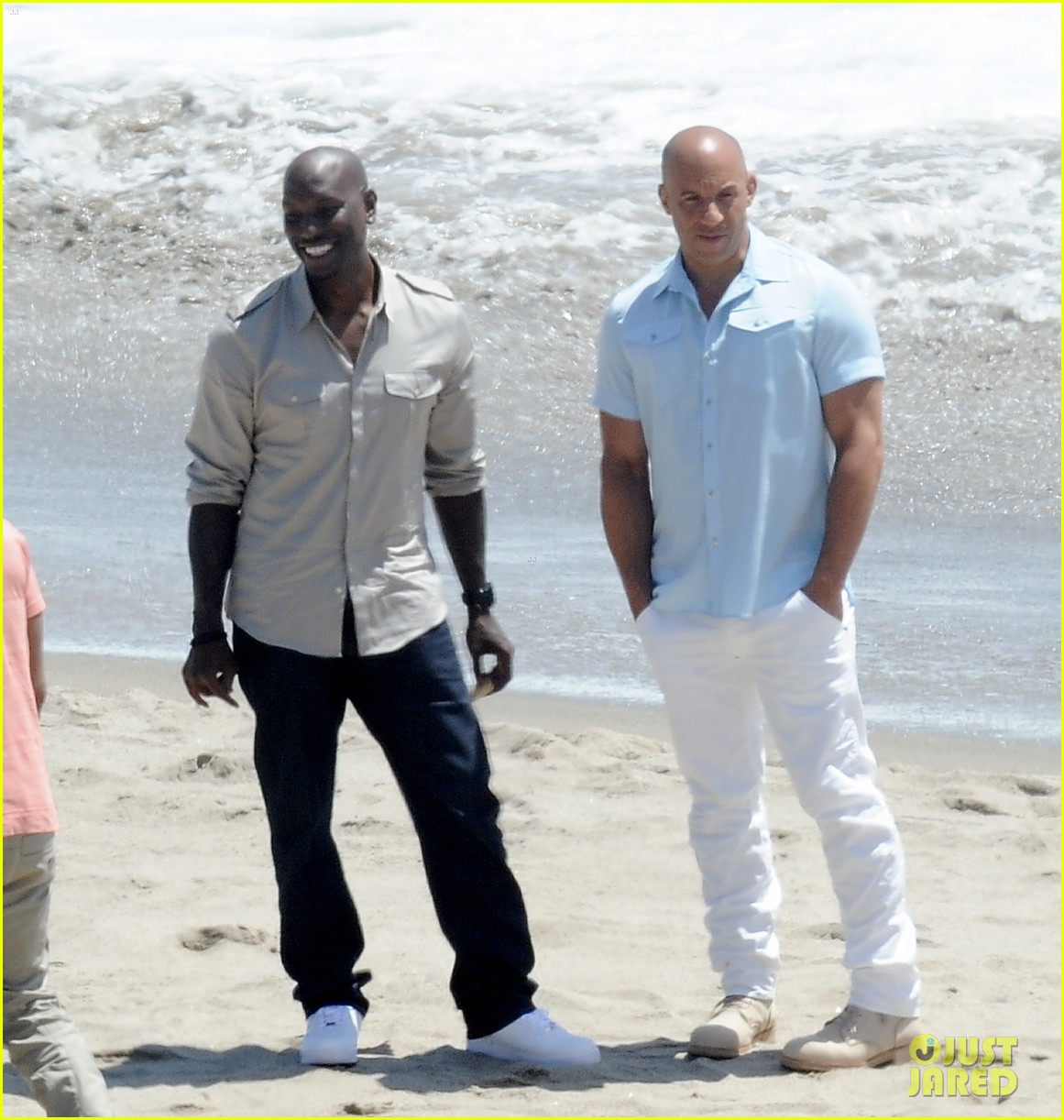 paul walkers brothers get to work on fast furious 7 with the cast 09