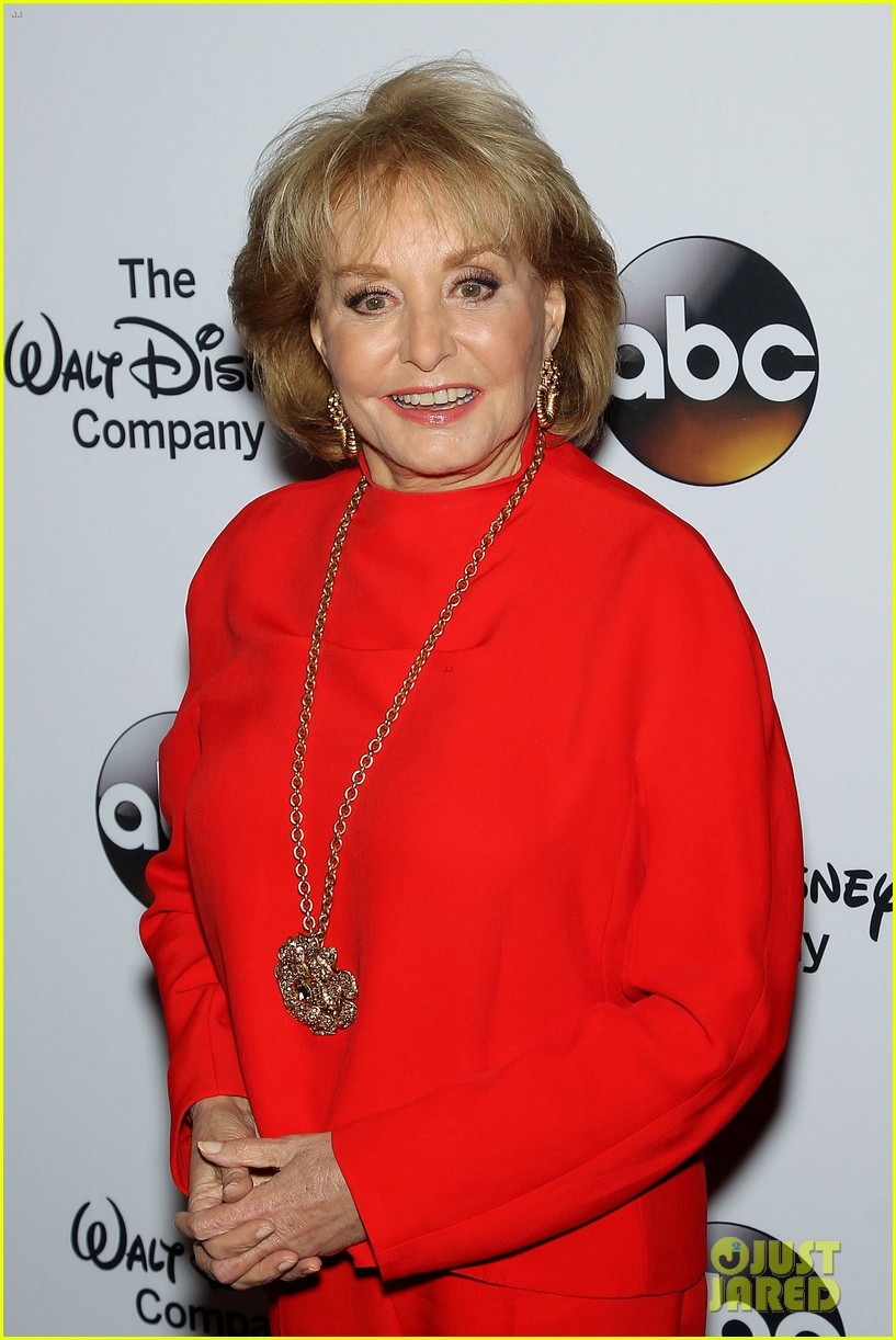 barbara walters joins the view co hosts at celebration 07