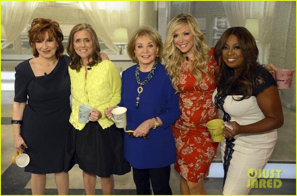 barbara walters final view episode brings out newscasters 06