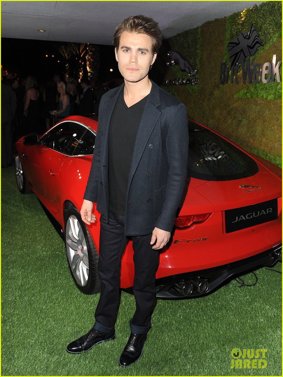 paul wesley ethan peck rev up the engines with jaguar 05