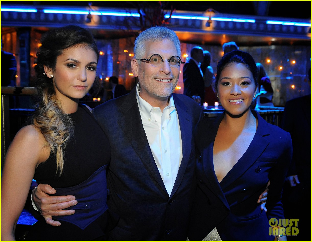paul wesley nina dobrev cw upfront party 103115023
