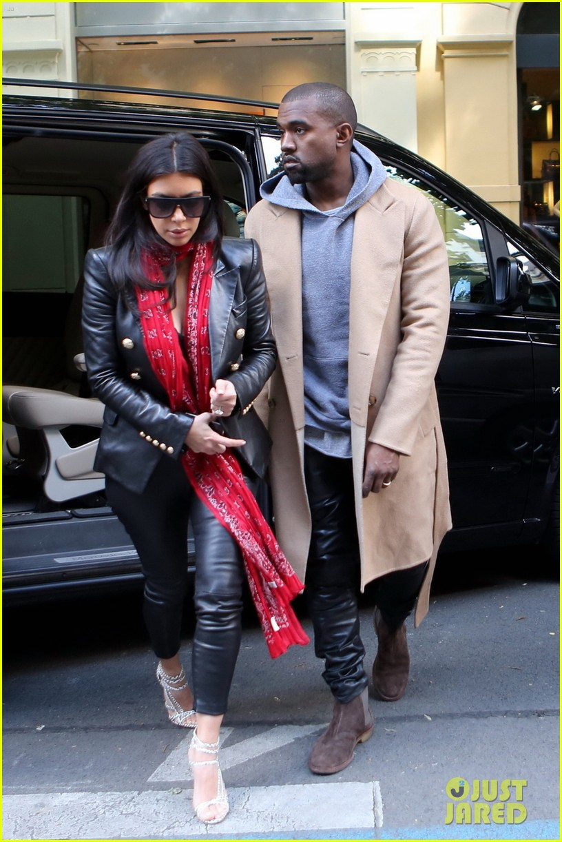 kim kardashian kanye west have romantic dinner 033124697