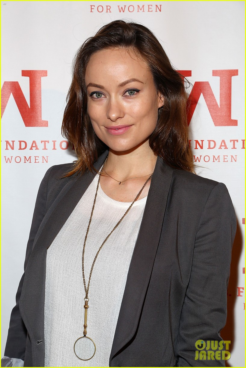 olivia wilde hits the red carpet one week after giving birth 053103455