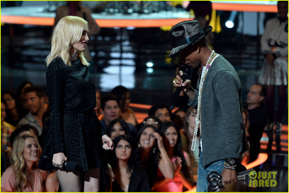 pharrell williams iheartradio music awards 2014 193103617