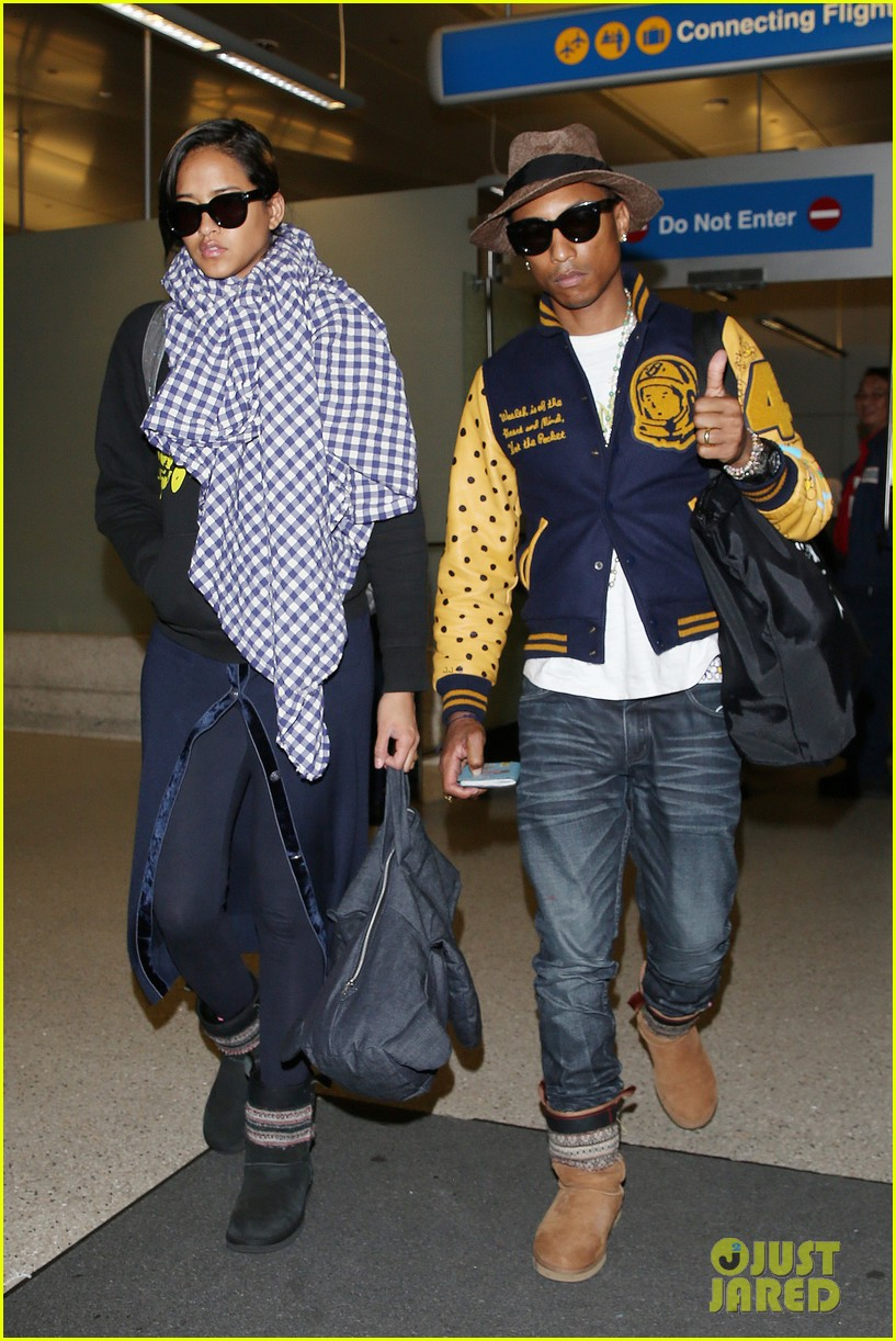 pharrell williams wife helen lasichanh look oh so serious 093124163