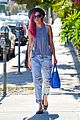 rumer willis heats it up with red hair 21