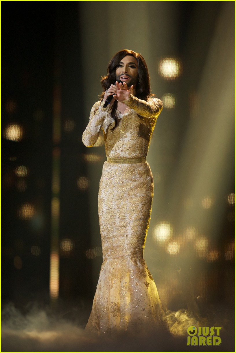 Who Is Conchita Wurst Bearded Drag Queen Wins Eurovision Photo