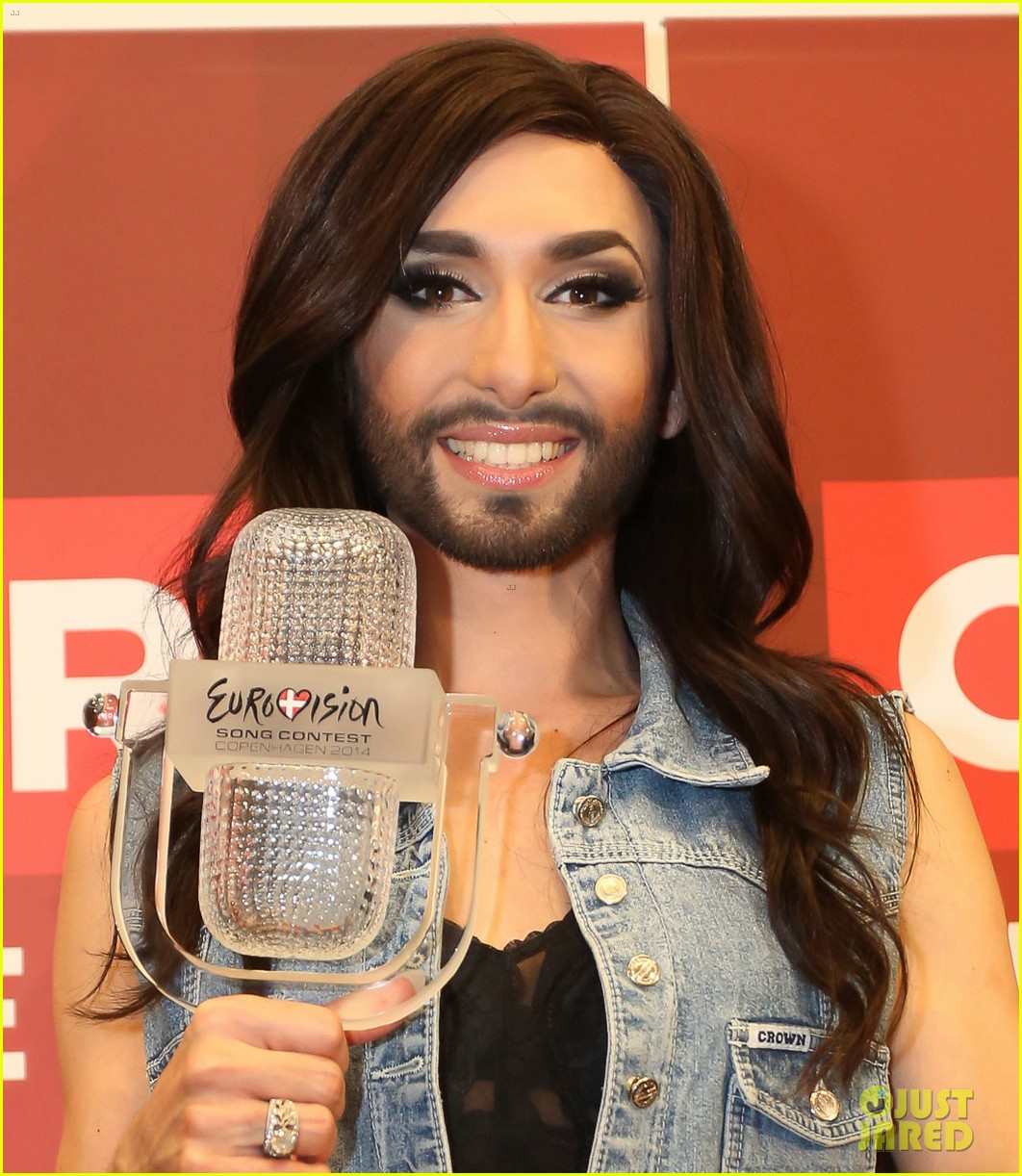 conchita wurst greeted by fans in austria after eurovision win 033111432