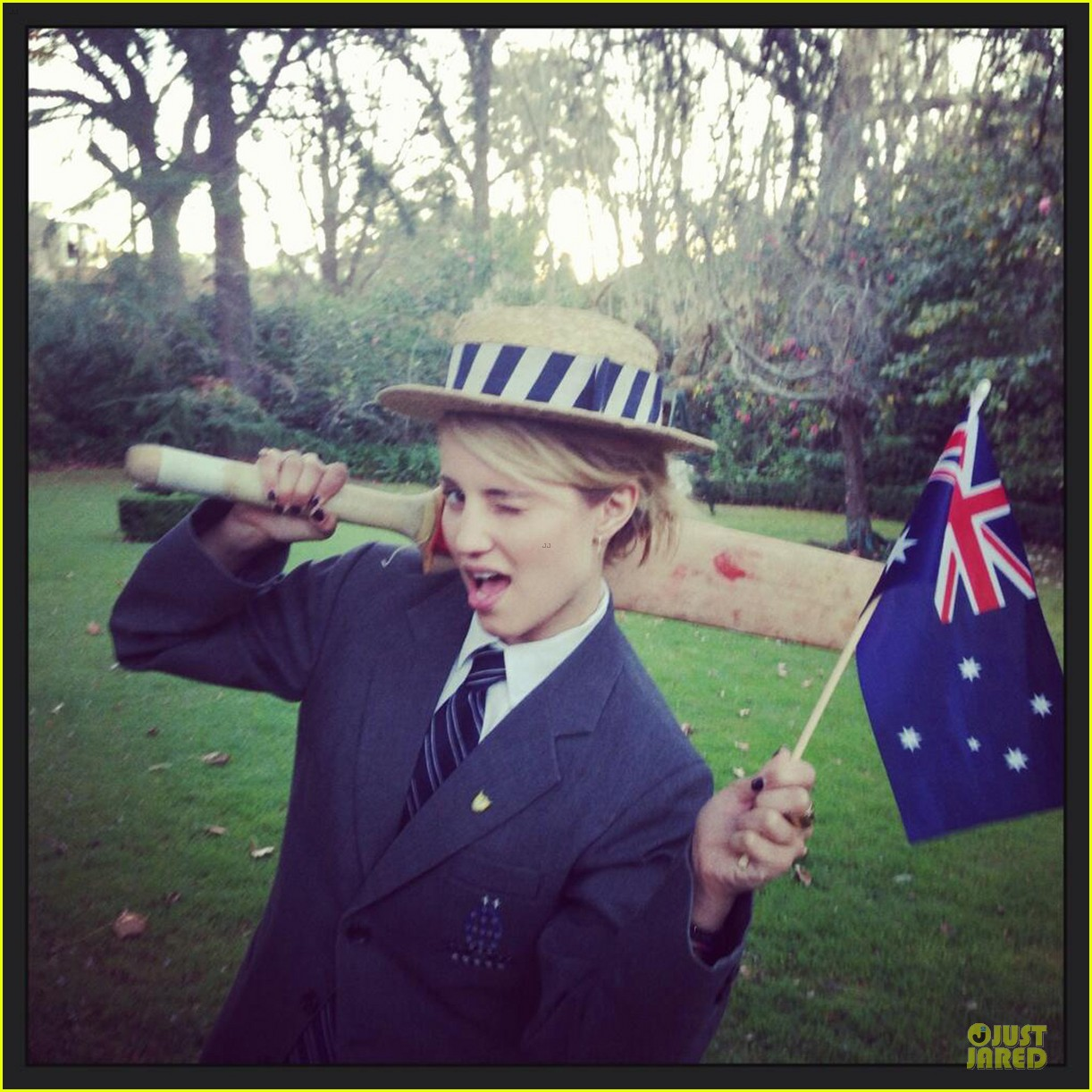 dianna agron goes down under for beau thomas cocquerel 04