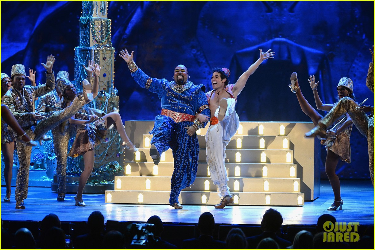 james monroe iglehart performs aladdin tonys awards 2014 033131324