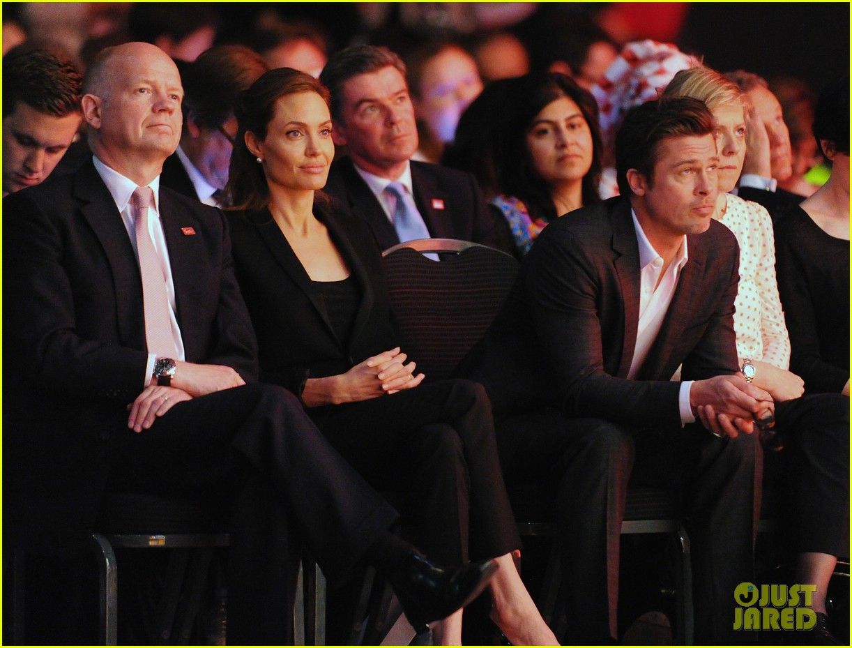 amal alamuddin brad pitt angelina jolie anti rape summit 10