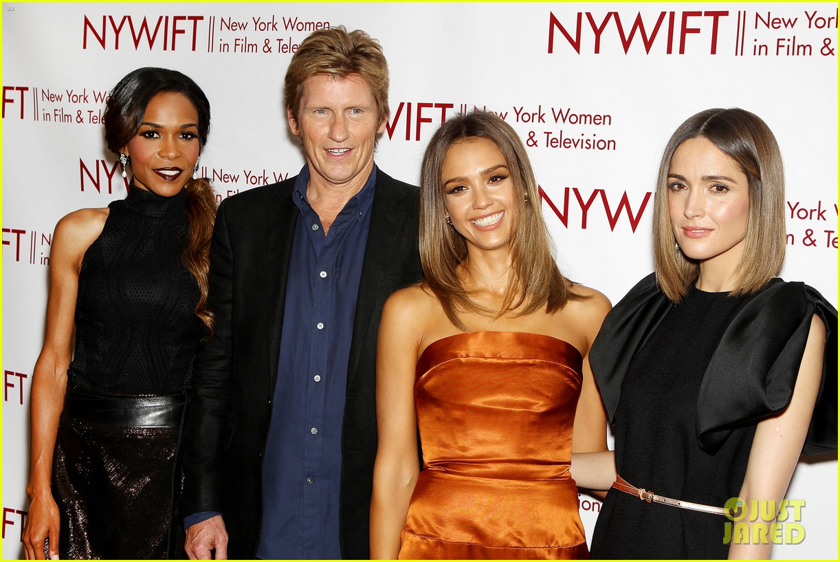 jessica alba rose byrne honor ny women in film tv 35