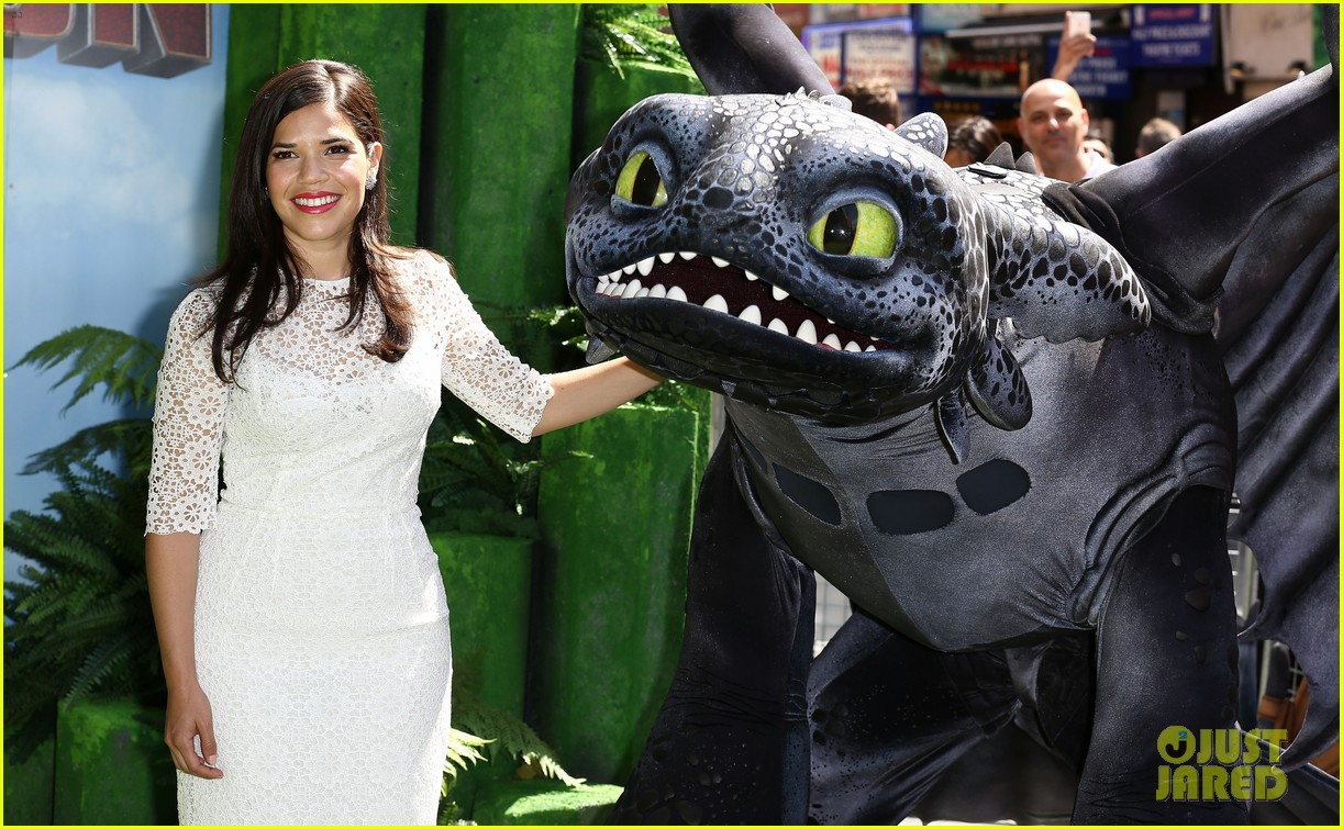 america ferrera how to train dragon 2 london 103141144
