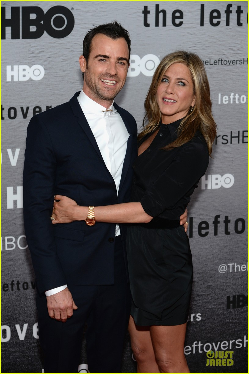 jennifer aniston justin theroux chemistry at leftovers premiere 103142064