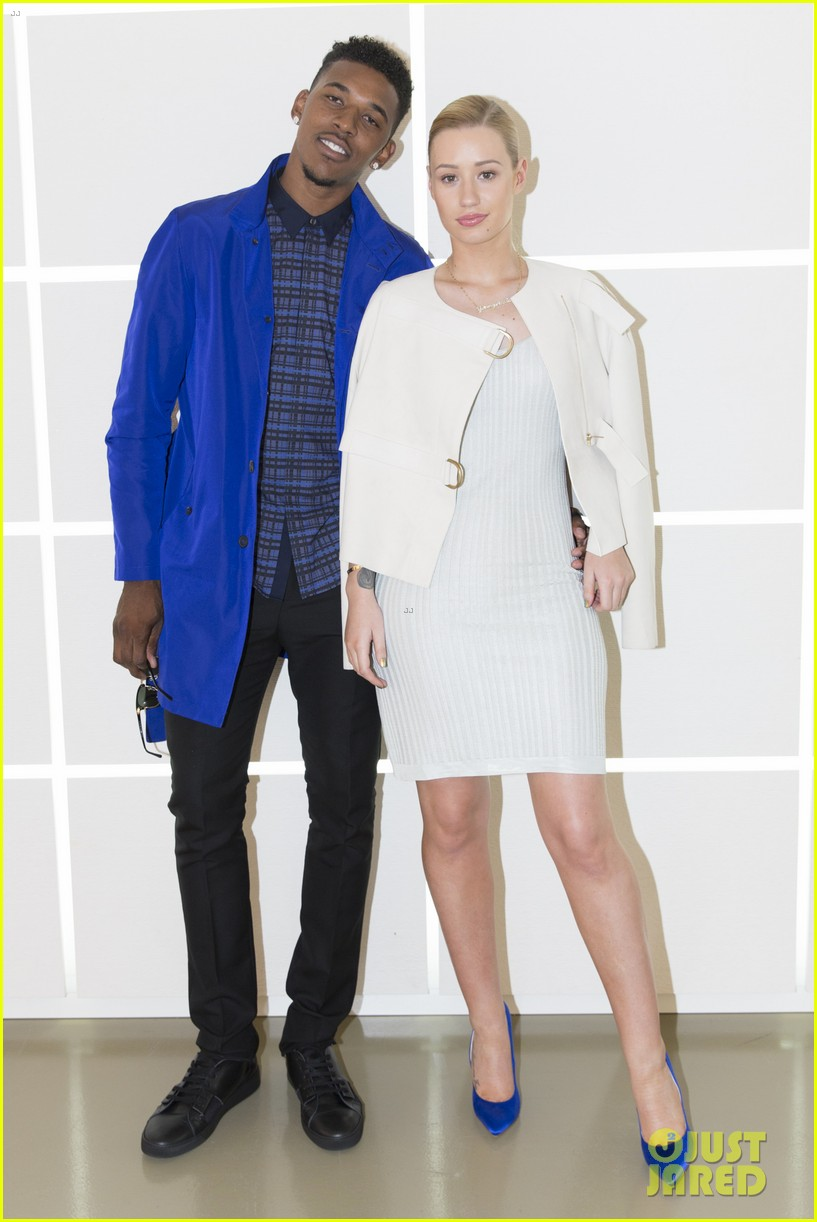 iggy azalea boyfriend nick young are fashionable duo for calvin klein 05