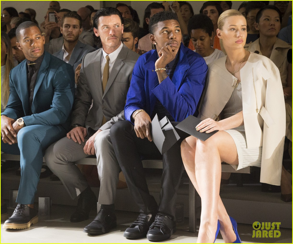 iggy azalea boyfriend nick young are fashionable duo for calvin klein 093141700
