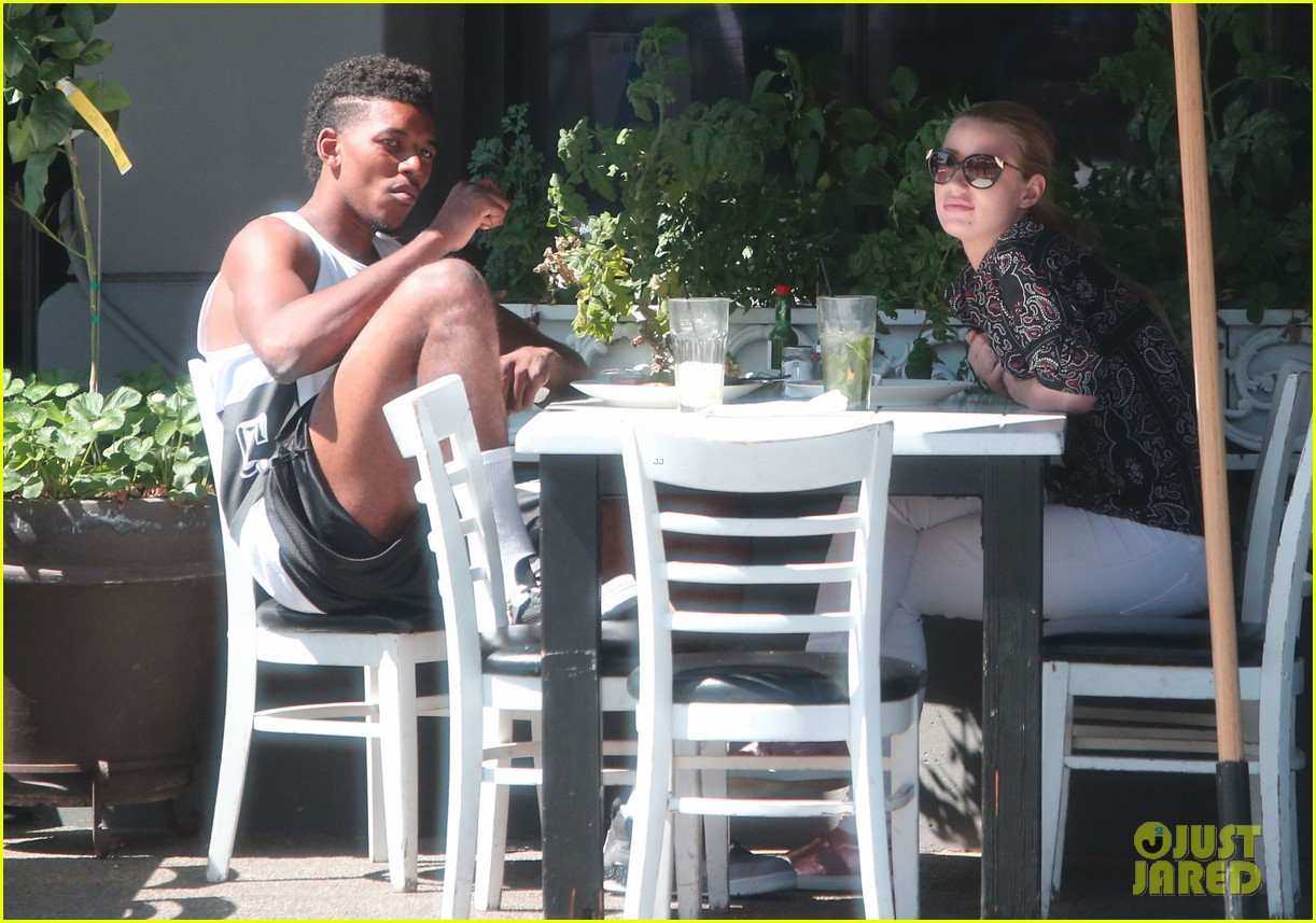 iggy azalea boyfriend nick young are one cute couple lunch 20