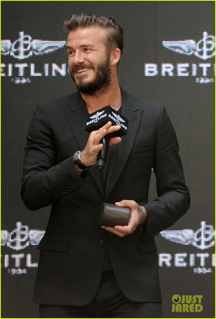 david beckham breitling press conference in beijing 03