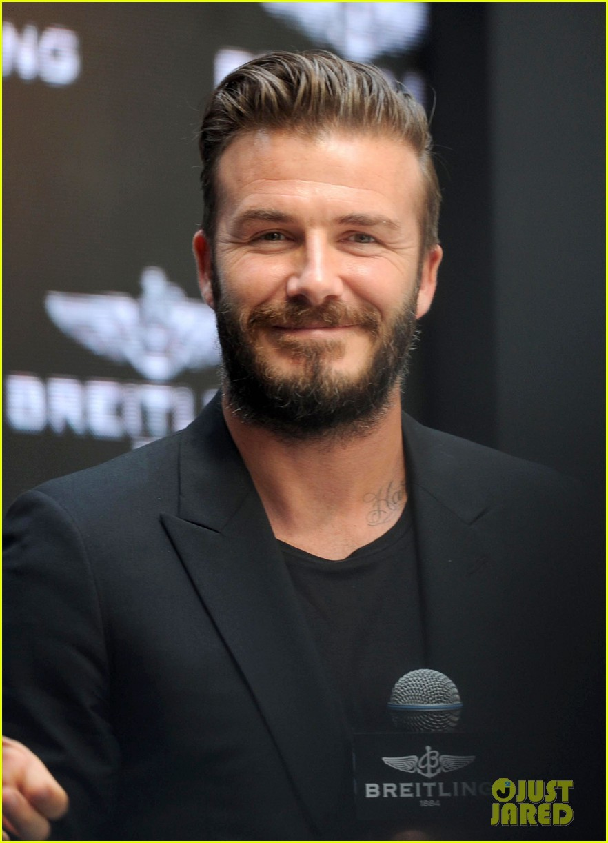 david beckham breitling press conference in beijing 06