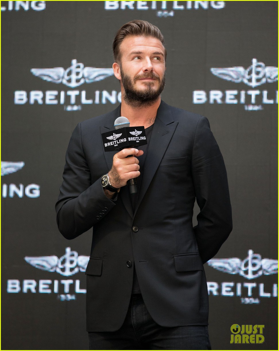 david beckham breitling press conference in beijing 11