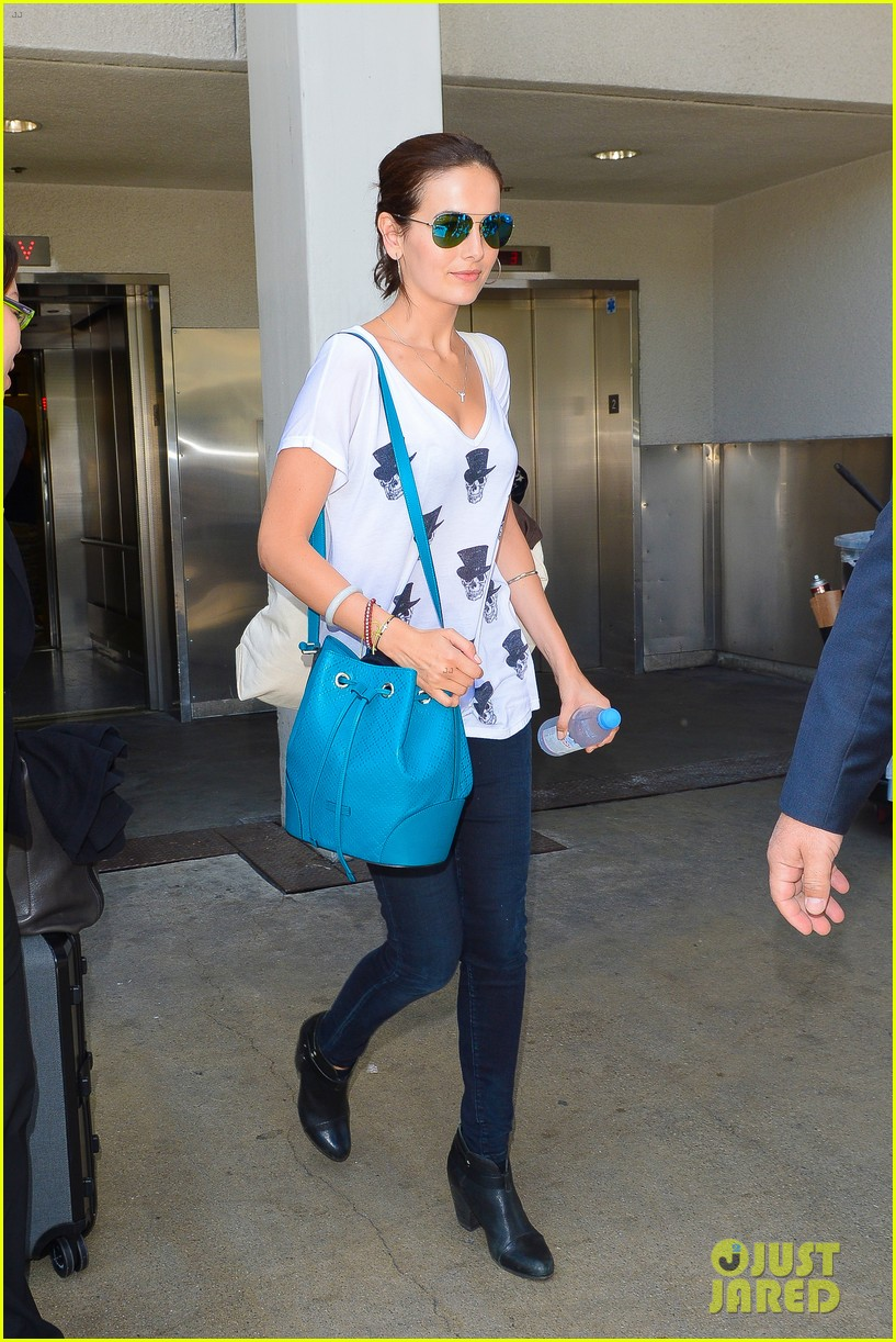 camilla belle heads home after her south american tour 08