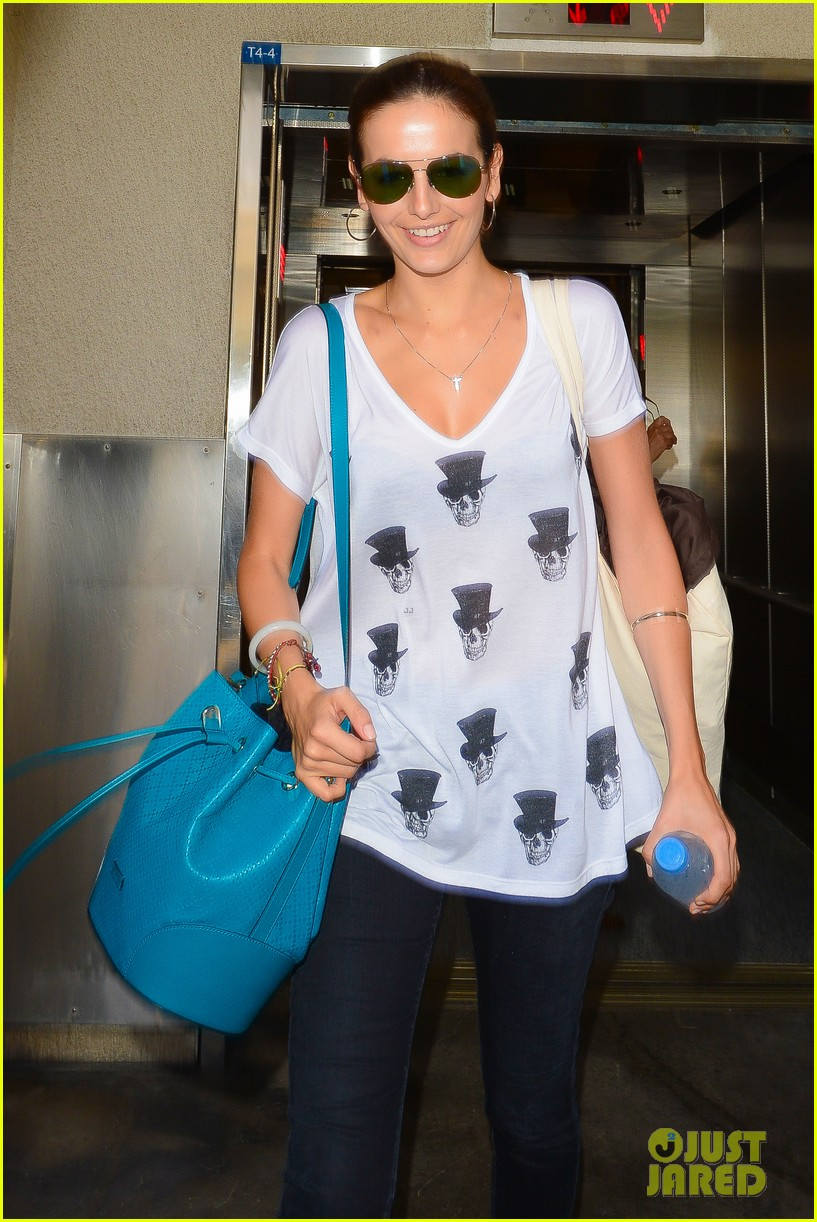 camilla belle heads home after her south american tour 11