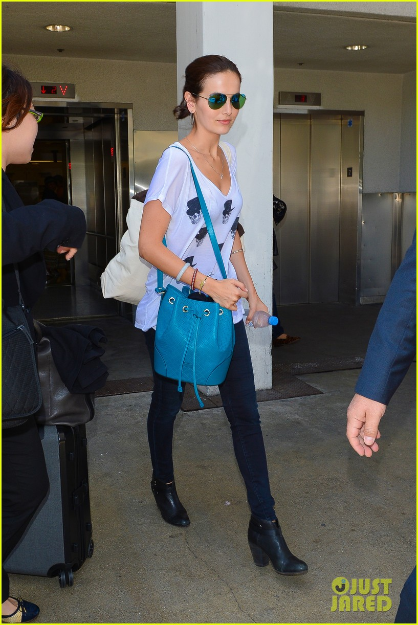 camilla belle heads home after her south american tour 17