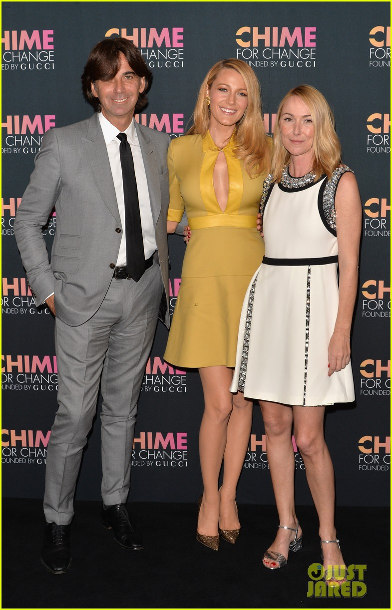 blake lively parties beyonce gucci chime for change 10