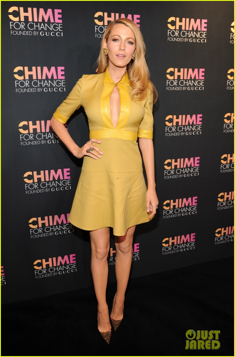 blake lively parties beyonce gucci chime for change 113127783