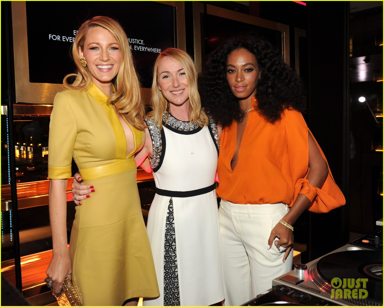 blake lively parties beyonce gucci chime for change 27