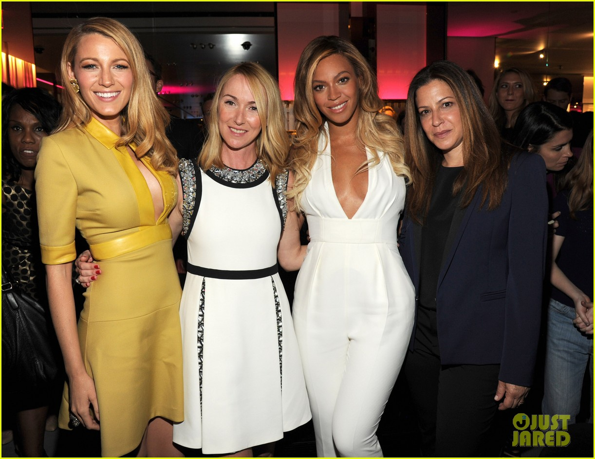 blake lively parties beyonce gucci chime for change 323127804