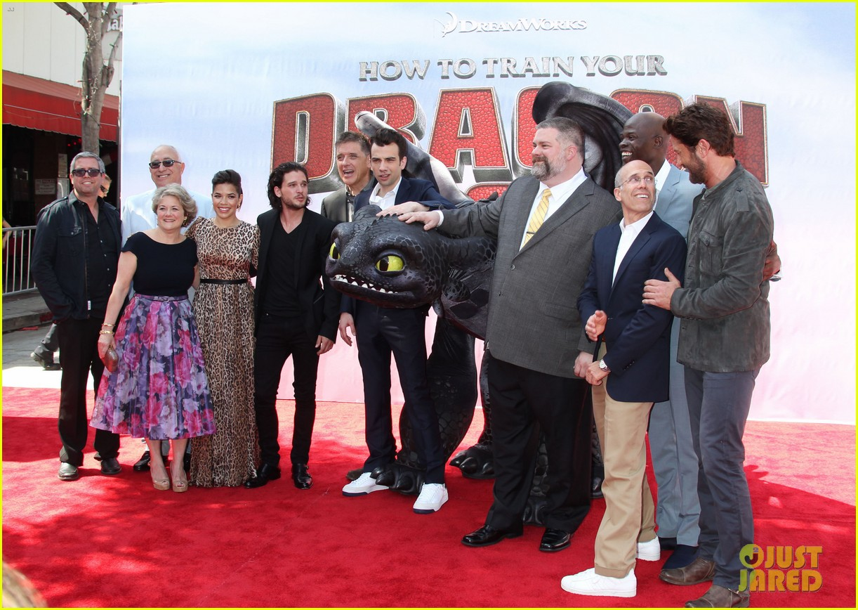 cate blanchett america ferrera take how to train your dragon 2 to australia california 053131579