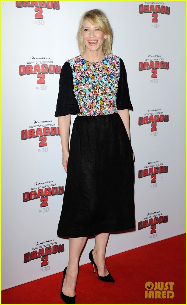 cate blanchett america ferrera take how to train your dragon 2 to australia california 06