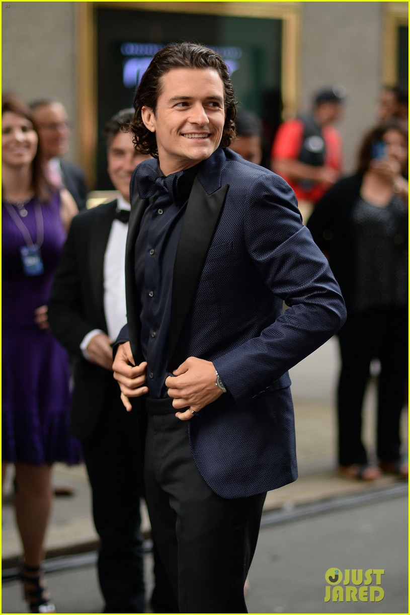 orlando bloom lucy liu tony awards 2014 153131270