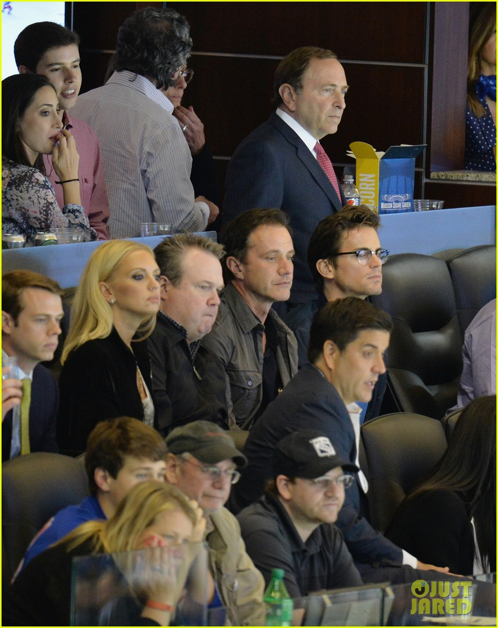 matt bomer watches exciting stanley cup finals game 033133840