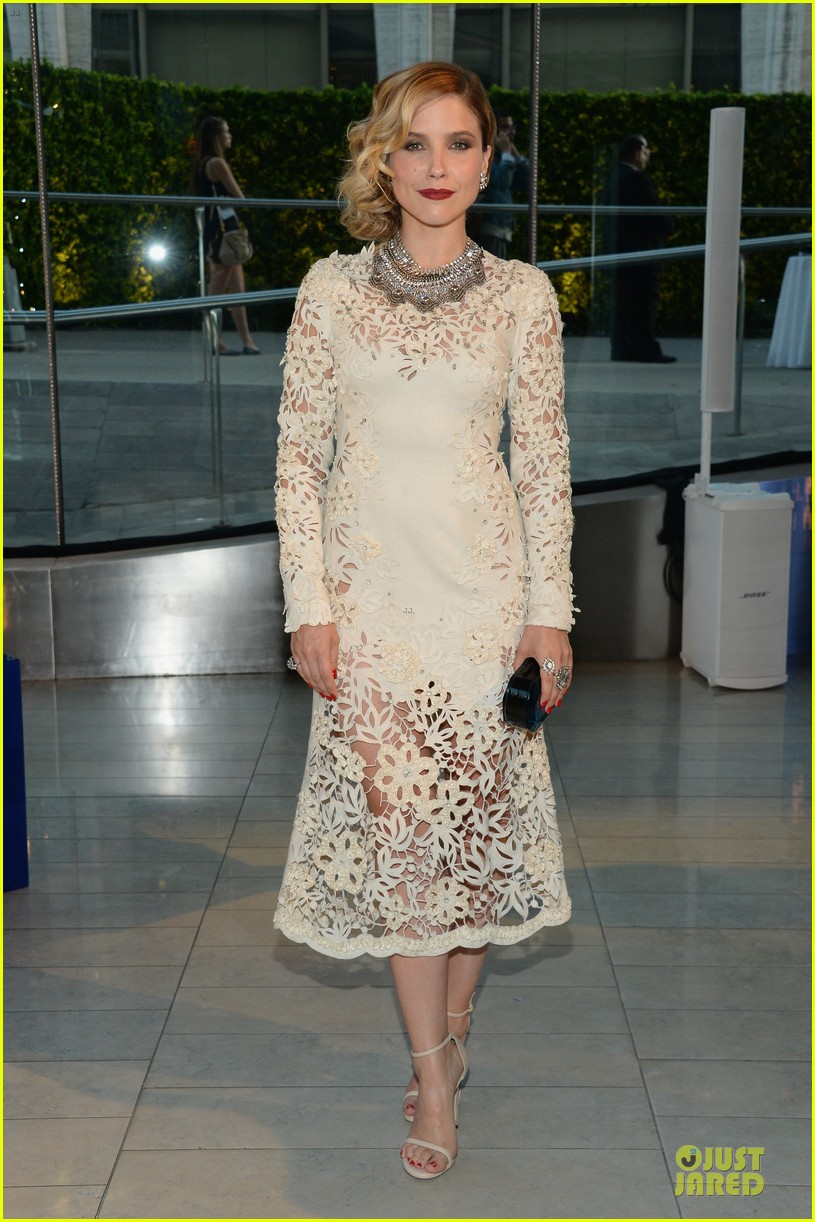 sophia bush james marsden fashion cfda awars 2014 10