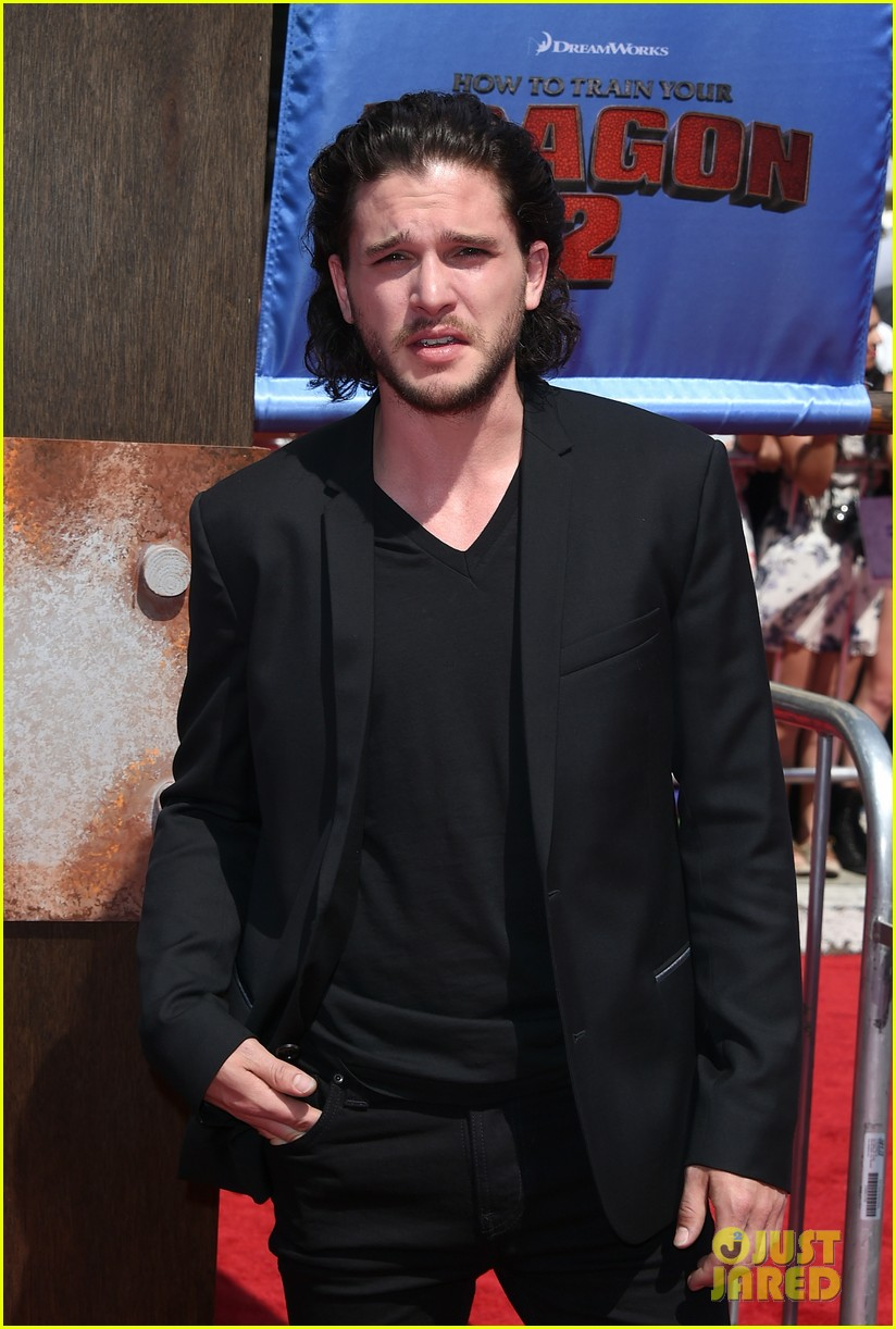 gerard butler kit harington how to train your dragon 2 premiere 18