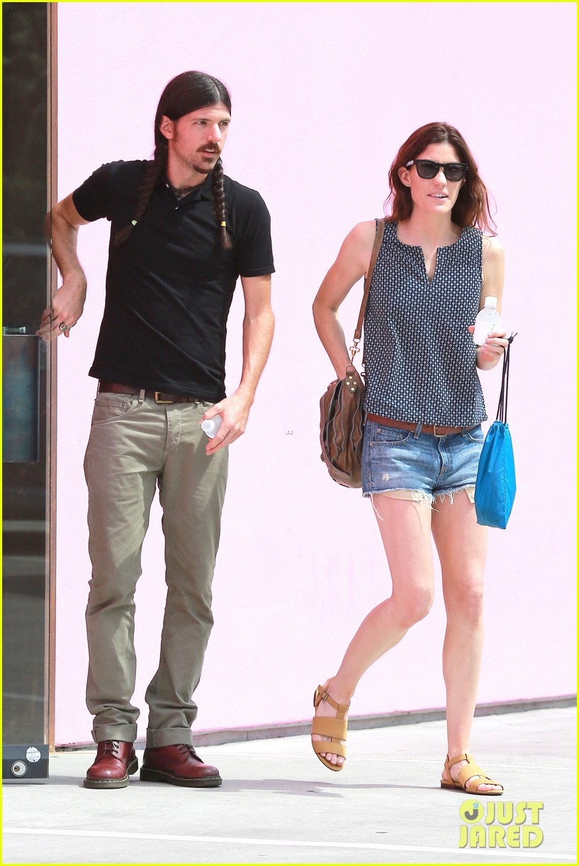 jennifer carpenter steps out with boyfriend seth avett 133144483