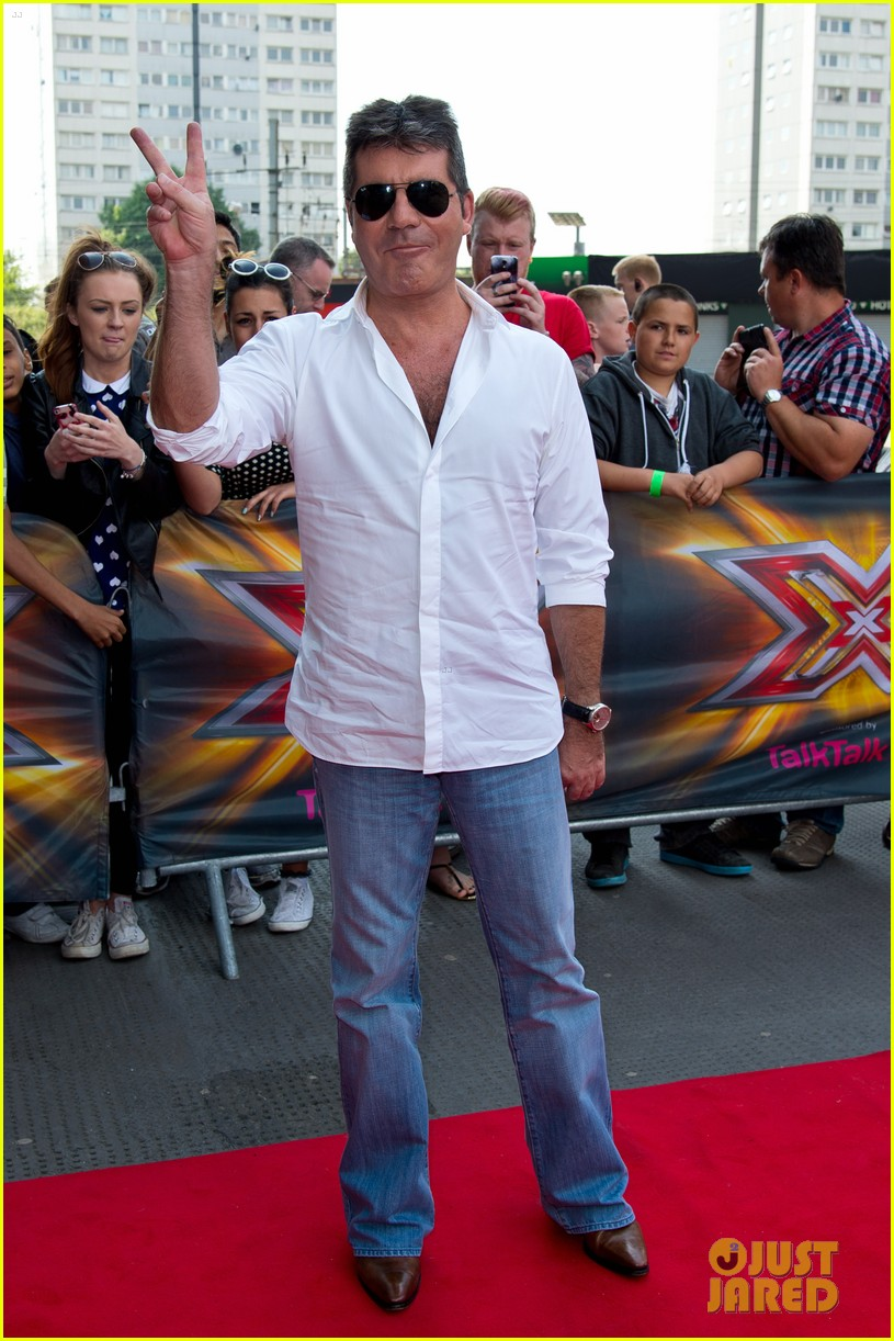 x factor uk judges hit the red carpet 103142565