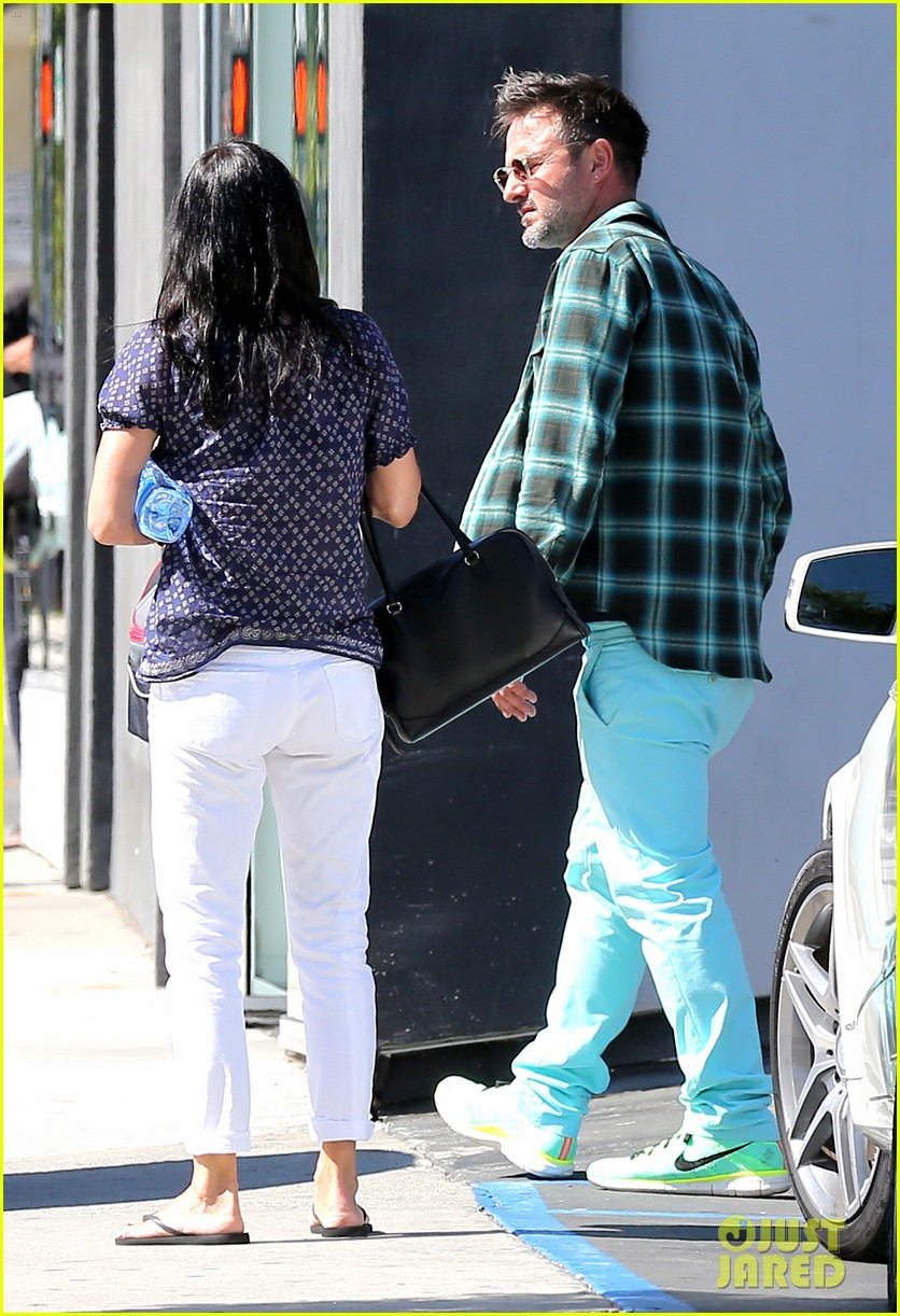 courteney cox meets up with her ex david arquette before her birthday 033134706