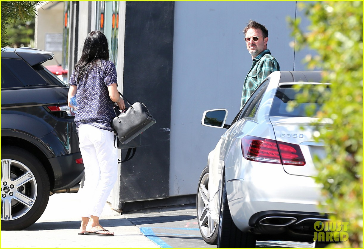 courteney cox meets up with her ex david arquette before her birthday 213134724