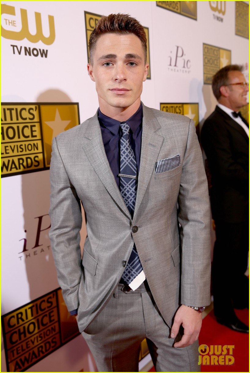 josh dallas colton haynes critics choice tv awards 2014 173139316