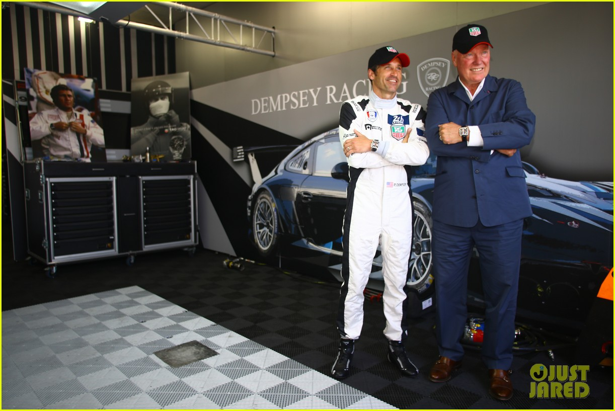 patrick dempsey is back in his racing gear for le mans 11