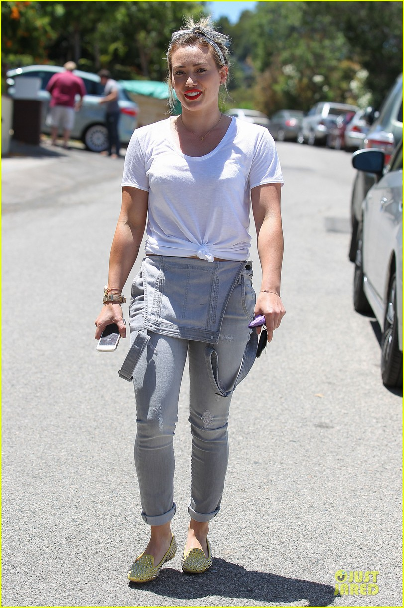 hilary duff overalls cool different 15