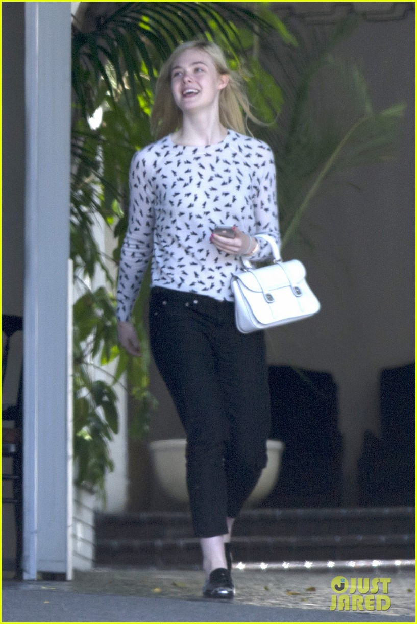 elle fanning chateau marmont two days 07