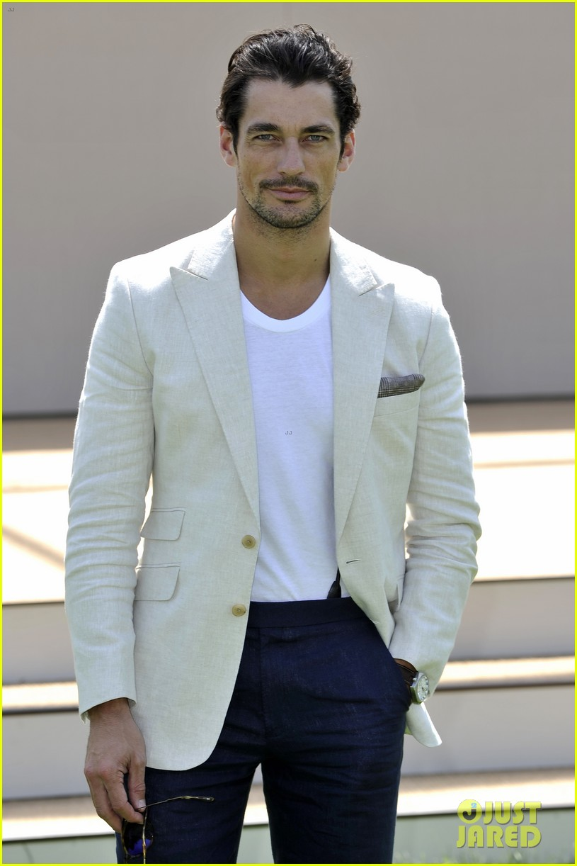 jourdan dunn david gandy burberry prorsum 123137412
