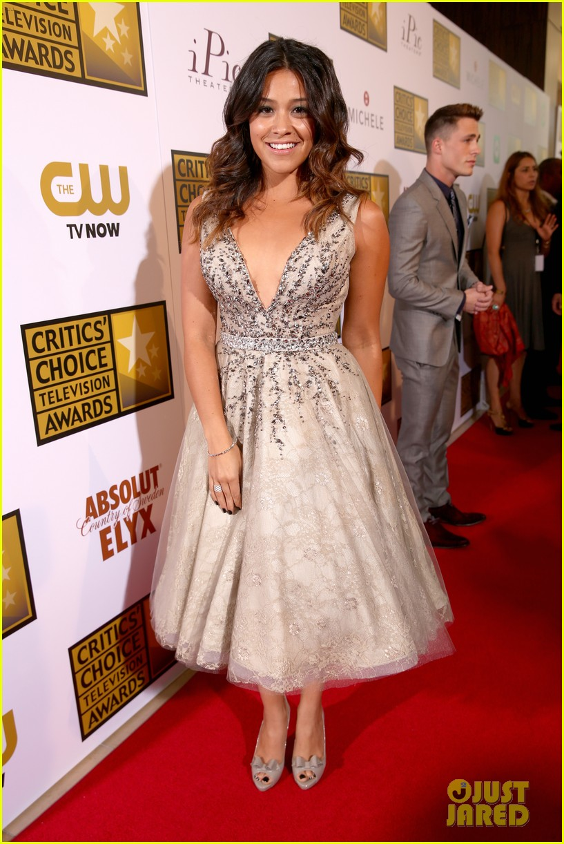 kat graham gina rodriguez critics choice tv awards 2014 13