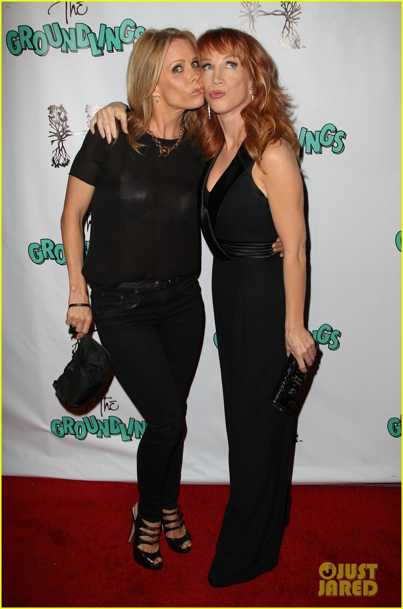 kathy griffin cheryl hines groundlings anniversary 14